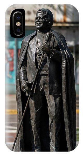James Brown Statue - Augusta Ga 2 IPhone Case