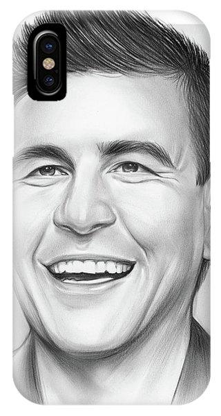 Graphite iPhone Case - James by Greg Joens