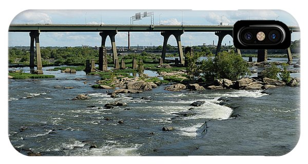 James River Rapids IPhone Case