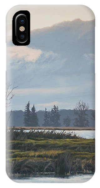 January Skies IPhone Case