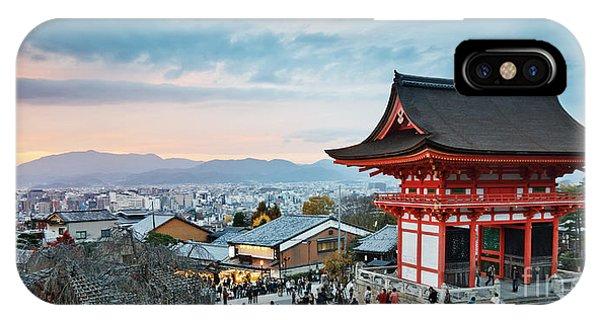 Japan - Kyoto. Kiyomizu Temple Phone Case by Kanuman