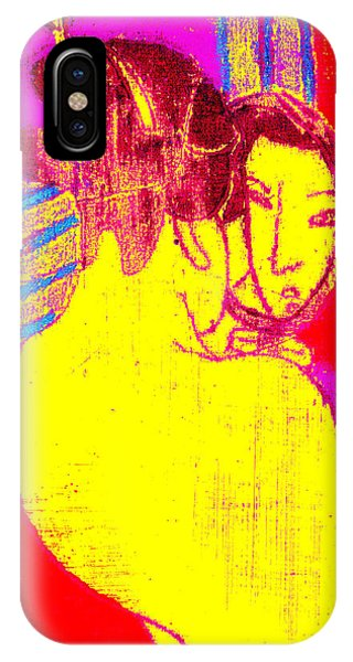 Japanese Pop Art Print 1 IPhone Case