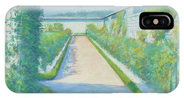 1877 iPhone Case - Jardin Potager, Yerres, 1877  by Gustave Caillebotte