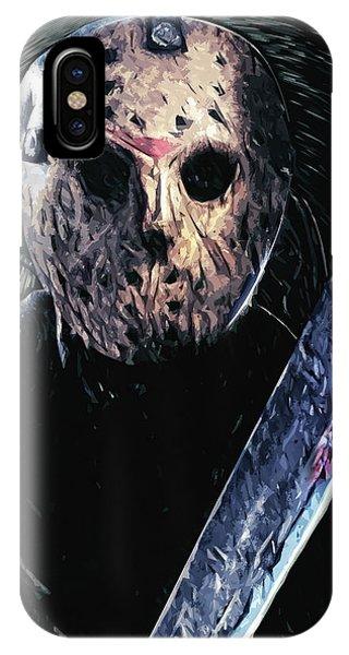 Jason Voorhees IPhone Case