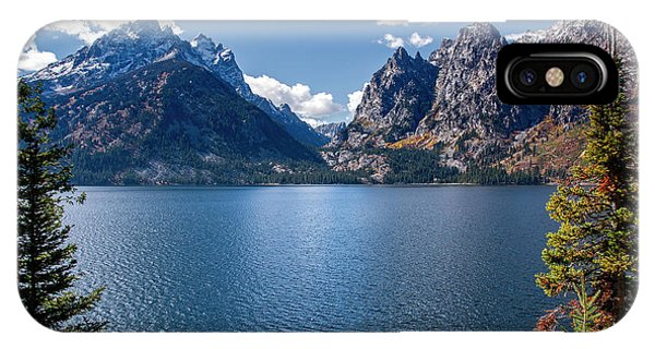 IPhone Case featuring the photograph Jenny Lake by Scott Read
