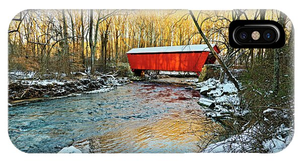 Kingsville iPhone Case - Jericho Covered Bridge by Brian Wallace