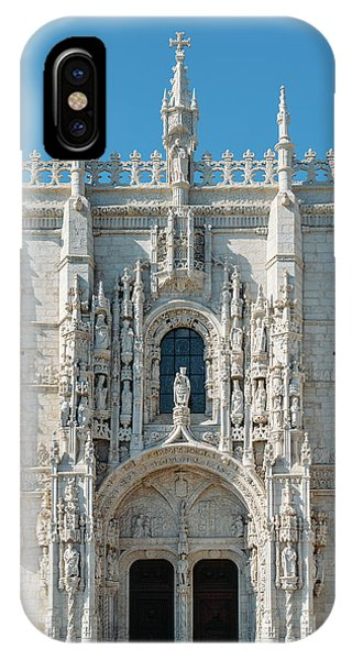 Jeronimos Monastery, Portugal IPhone Case