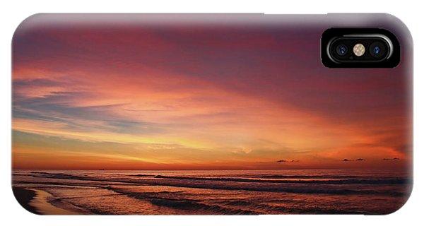 Jersey Shore Sunrise IPhone Case