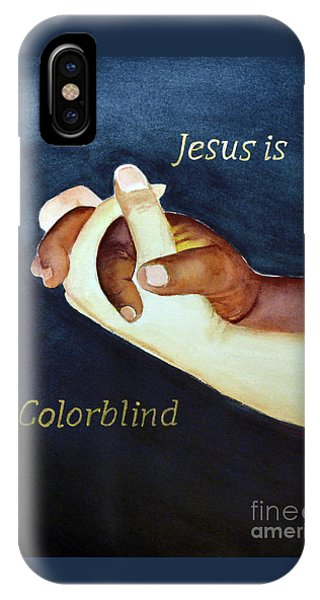 Jesus Is Colorblind IPhone Case