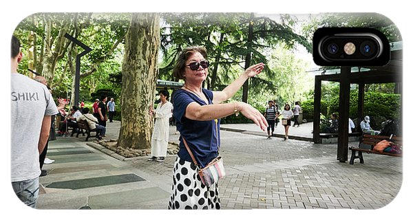 Jing An Park IPhone Case