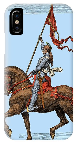 1431 iPhone Case - Joan Of Arc, French National Heroine by Science Source