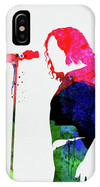 Watercolor iPhone Case - Joe Cocker Watercolor by Naxart Studio