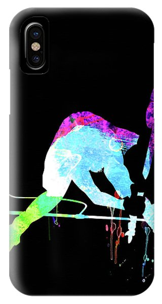 Print iPhone Case - Joe Watercolor II by Naxart Studio