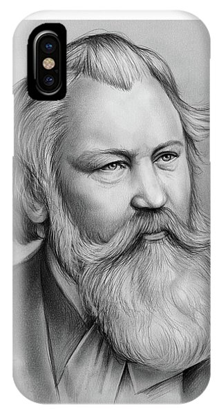 Lutheran iPhone Case - Johannes Brahms by Greg Joens