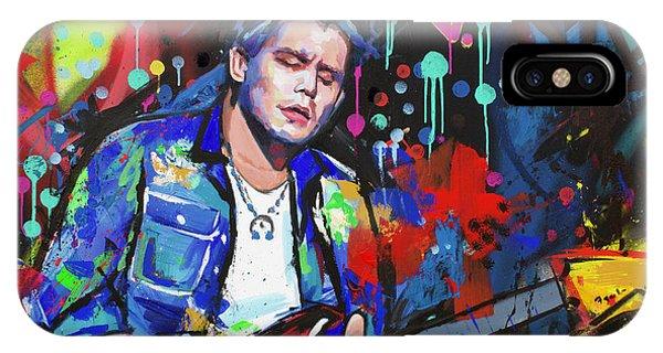 Eric Clapton iPhone Case - John Mayer by Richard Day