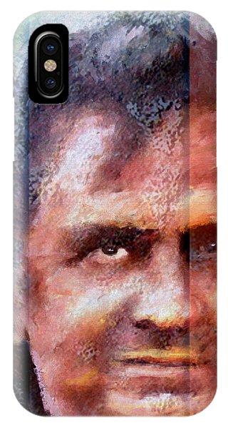 Johnny Cash iPhone Case - Johnny Cash Artwork by James Shepherd