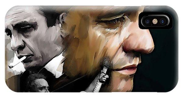 Johnny Cash  Hurt, Too IPhone Case