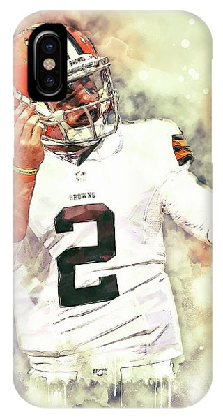 Johnny Manziel IPhone Case