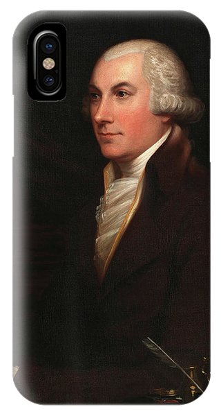 King Charles iPhone Case - Joshua Johnson by Charles Bird King