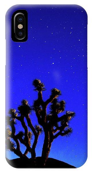Joshua Tree Under The Stars IPhone Case