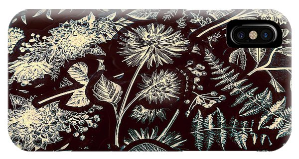 Garden Wall iPhone Case - Jungle Flatlay by Jorgo Photography - Wall Art Gallery