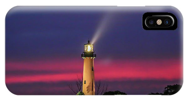 Jupiter Light Beam IPhone Case