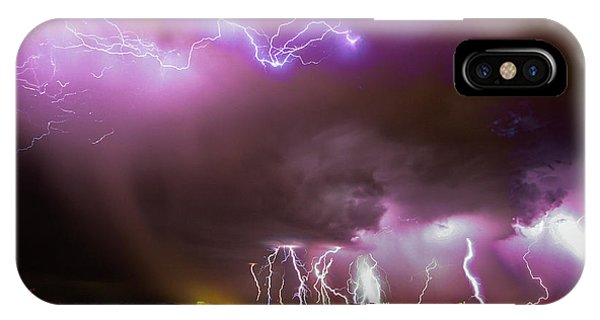 IPhone Case featuring the photograph Just A Few Bolts 001 by NebraskaSC