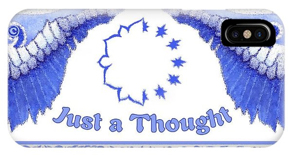 Just A Thought IPhone Case