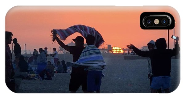 IPhone Case featuring the photograph Just Another California Sunset by Ron Cline
