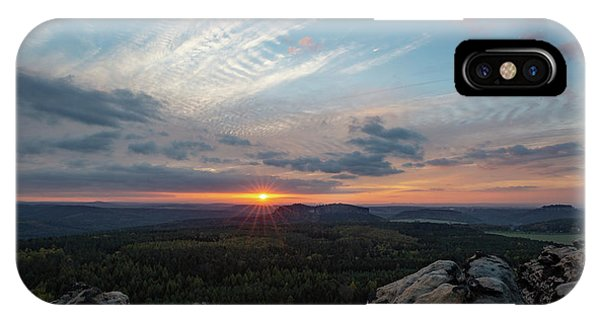 Just Before Sundown IPhone Case