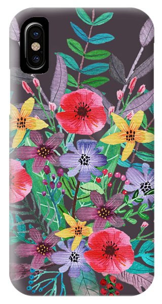 Flower iPhone Case - Just Flora II by Amanda Lakey