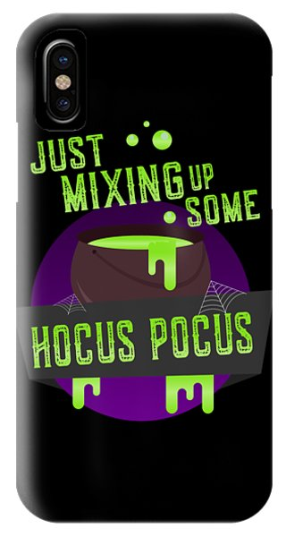 Just Mixing Some Hocus Pocus Halloween Witch IPhone Case