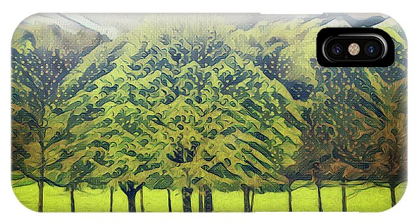 IPhone Case featuring the photograph Just Trees by Leigh Kemp