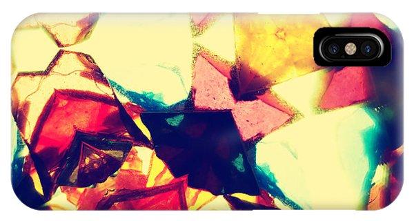 Soft iPhone Case - Kaleidoscope Pattern by Sl photo