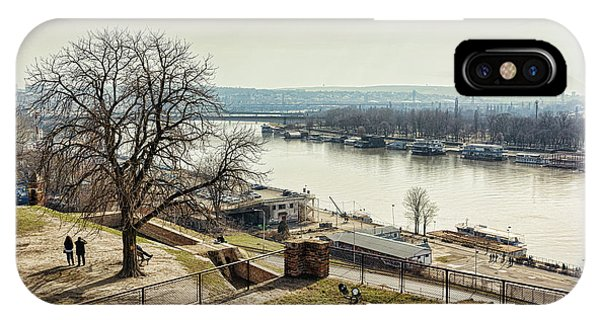 Kalemegdan Park Fortress In Belgrade IPhone Case