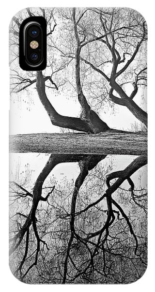 Oyama iPhone Case - Kaloya Pond And Willow Trees by Darrel Giesbrecht