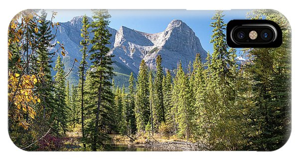 Kananaskis Country From Canmore IPhone Case