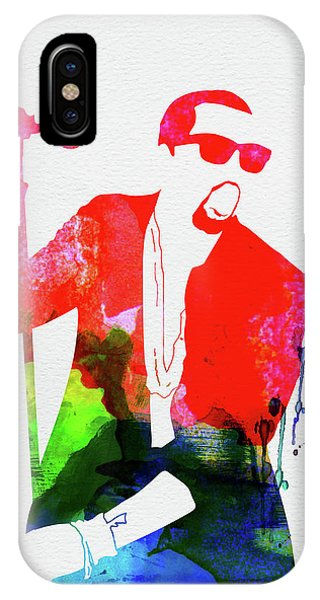 Print iPhone Case - Kanye Watercolor by Naxart Studio