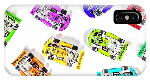 Cart iPhone Case - Karting Patterns by Jorgo Photography - Wall Art Gallery