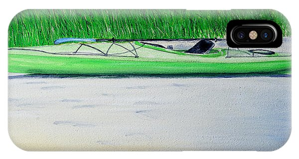 Kayak Essex River IPhone Case