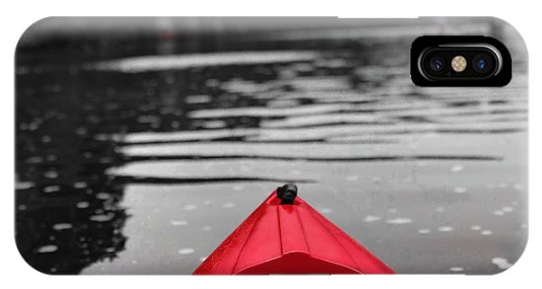 Kayaking The Occoquan IPhone Case