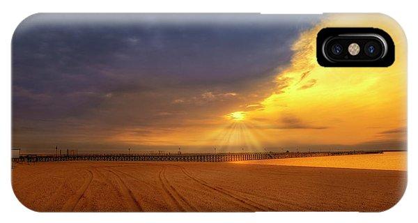 iPhone Case - Keansburg Fishing Pier by Susan Candelario