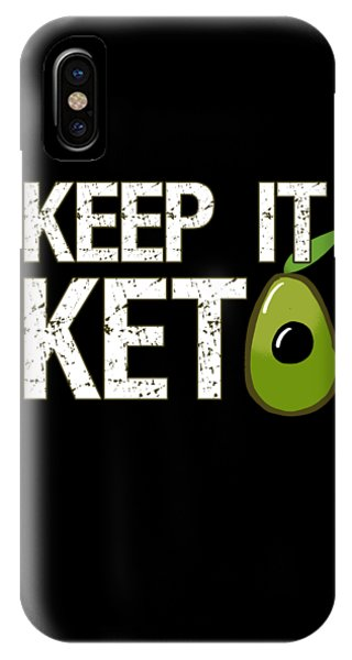 Keep It Keto IPhone Case