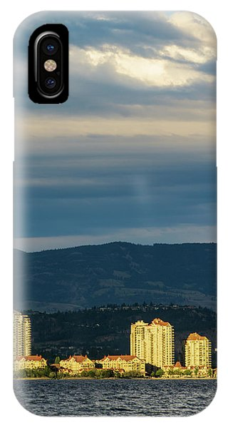 Kelowna At Sunset IPhone Case