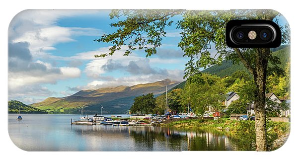 Kenmore And Loch Tay, Perthshire Phone Case by David Ross