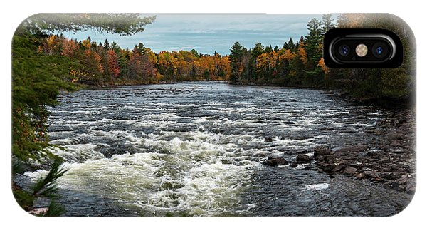 IPhone Case featuring the photograph Kennebec River by Rick Hartigan