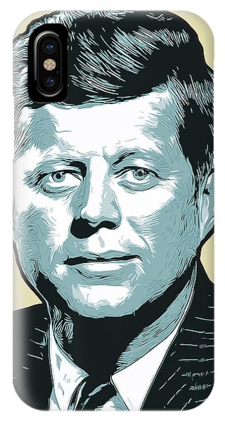 Political iPhone Case - Kennedy 31oct18 by Greg Joens