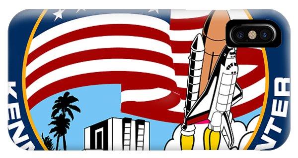 Kennedy Space Center iPhone Case - Kennedy Space Center by Nikki Sandler