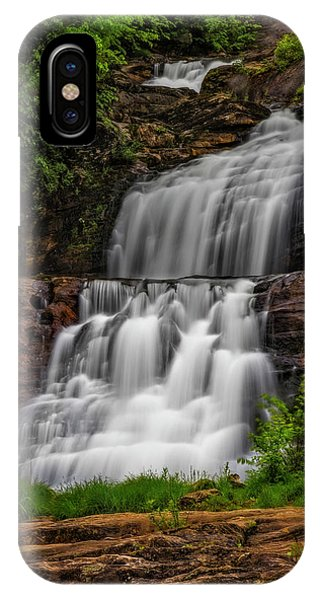 iPhone Case - Kent Falls State Park Ct  by Susan Candelario