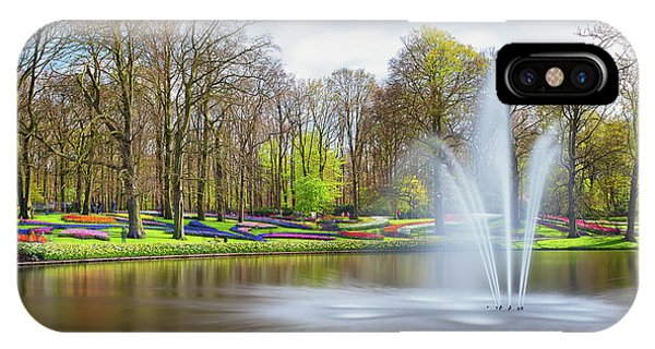 Keukenhof Tulip Garden Holland IPhone Case